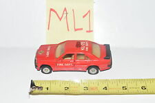 WELLY MERCEDES BENZ 190 E FIRE DEPT KL 72 #8667 W/ OPENING DOORS  - LOOSE