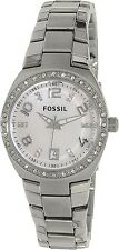 Fossil Women's Flash AM4141 Silver Stainless-Steel Analog Quartz Watch