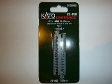 "Kato 20050, N Scale Unitrack 78-108mm Expansion Track 3"" to 4-1/4"". 1pc, 20-050"