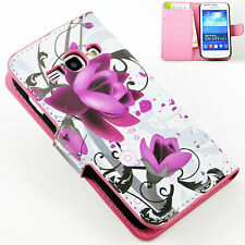 Flip Leather Wallet Card Holster Case Cover For Samsung Galaxy Ace 3 S7272