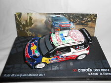CITROËN DS3 WRC LOEB 2011 Mexico 1/43