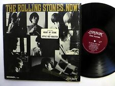 ROLLING STONES Now! LP London-3420 U.S.1st press w/ HYPE STICKER  sm1359
