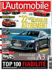 L'AUTOMOBILE MAGAZINE . N° 822 . LE GUIDE DU SALON DE PARIS 2014 / DUEL  ARNOUX