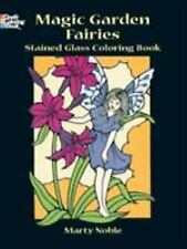 Dover Stained Glass Coloring Book: Magic Garden Fairies