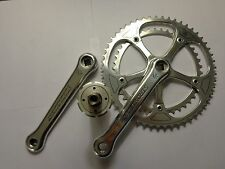 Vintage Stronglight 107 crankset 53x42 170mm w/Strnglit comp BB ti axle 120mm