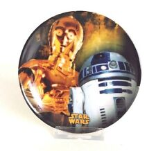 Star Wars Mini Collectible Plate - Droids C-3PO and R2-D2