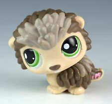 Littlest Pet Shop Porcupine #1321 Brown and Tan With Green Eyes