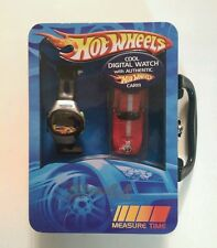 Hot Wheels Wrist Watch Digital Easy to Wear  Band NEW RARE
