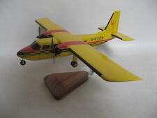 Britten Norman Islander BN-2 Aurigny Airplane Desktop Wood Model