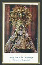 Estampa antigua Virgen De Guadalupe andachtsbild santino holy card santini