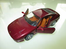 FERRARI 456 GT IN ROSSO ROUGE ROSSO Roja Red Metallic, Detail Cars in 1:43!