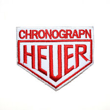 TAG HEUER Watch F1 Motorsport Racing Golf Jacket Jeans Shirt Clothing Iron Patch
