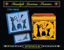 Halloween Stencil~MAGIC LESSONS FOR BEGINNERS~Witches CAST Spells of MAGIC Stars