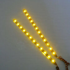 Hot Waterproof 2PC 12 LEDs 30cm 5050 SMD LED Strip Light Flexible 12V Car Decor