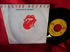THE ROLLING STONES Undercover of the night 45rpm 7' + PS 1983 ITALY EX+