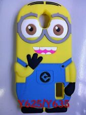 Cartoon Despicable Me 2 Minions Soft Silicone Case For Huawei Ascend Y625 Y635