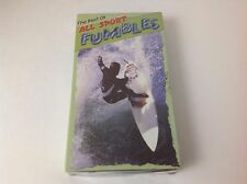 Vintage 90's The Best Of All Sport Fumbles Sealed VHS Tape