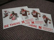 (3) Josh Banderas, Rose Ivey, Simpson Nebraska Defense 2016 Husker Schedule Card