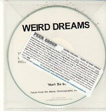 (DC922) Weird Dreams, Hurt So Bad - DJ CD