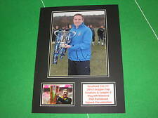 Phil Parkinson Signed Bradford City FC 2013/14 League Cup & Play-Off Win Mount