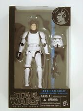 "Hasbro Star Wars The Black Series 6"" Han Solo(StormTrooper Disguise)#09 Figure"