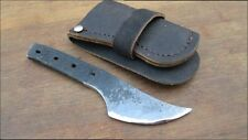 Smaller Custom Ehrenberger Heat-treated Carbon Steel Hunting Knife, RAZOR SHARP