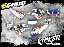 SCRUB Husaberg graphics decals kit TE 125-250-300 2011-2012 stickers '11-'12