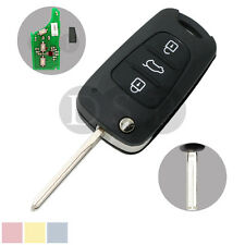 Flip Key 433MHz with Chip fit for HYUNDAI i30 ix35 Flip Remote Key Fob 3 Button