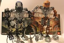 Lego Bionicle Toa Hordika Whenua #8738 Onewa #8739 *worldwide free shipping incl