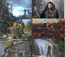 New Zealand-The Hobbit complete set of 12 mini sheets mnh(2012 & 2013)