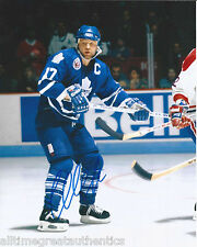 TORONTO MAPLE LEAFS WENDEL CLARK SIGNED 8X10 PHOTO W/COA WENDELL VINTAGE 5