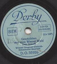 20 cm Derby Platte : Wiener Original Dietrich Schrammel Quartett : Wiener Blut