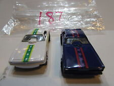 HOT WHEELS LOT OF 2 LOOSE VINTAGE DON PRUDHOMME THE SNAKE - TOM MCEWEN MONGOOSE