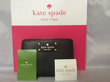 NWT Authentic Kate Spade Wellesley Cara Zip Around Wallet Clutch Coin Purse