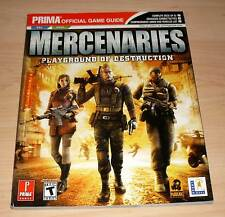 Mercenaries - Playground of Destruction - Official Game Guide (Berater Strategy)