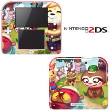Vinyl Skin Decal Cover for Nintendo 2DS - Animal Crossing New Leaf