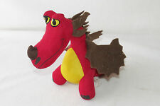 How to Train Your Dragon Race Hookfang Red Doll Plush Stuffed Animal Mini Toy 8""