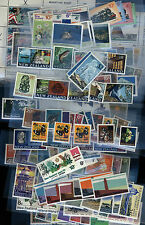 New Zealand Stamp Collection - 5 pages Early Decimal - many sets - all MNH