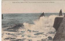 SAINT-GILLES-CROIX-DE-VIE barques de pêche timbrée