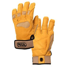 Petzl cordex plus belay climbing gloves Tan Extra Small K53XST