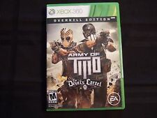Replacement Case (NO GAME) ARMY OF TWO THE DEVILS CARTEL   XBOX 360