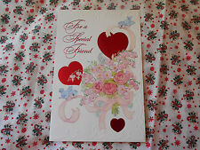 LOT OF 4 ''FOR A SPECIAL FRIEND'' VALENTINE'S DAY CARDS