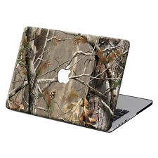 "Wood Skin Painted Hard Case Cover +Black KB +SP For Macbook Pro 13""15""Air 11""12"""