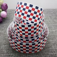 New Hot 1 yards 1inch 25mm print pattern Ribbon Bow Wedding craft supplies #52