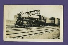 Grand Trunk Railway GT 0-8-0 Steam Locomotive #8301 - Vintage B&W Railroad Photo