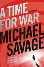 Time for War: A Thriller, a by Michael Savage