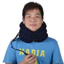 Adjustable Inflatable Neck Stretcher Shoulder Pain Relief Back Tension Traction