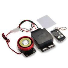 Motorcycle Motorbike Anti-theft Security Alarm System with Remote Control New