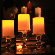 3 PCS LED Flameless Tealights Battery Operated Flickering Tea Light Led Candles