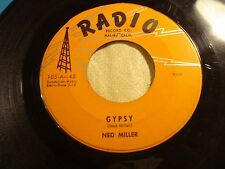 "NED MILLER ""Gypsy / With Enough Love"" 58 Rockabilly Bopper RADIO 105 Strong VG"